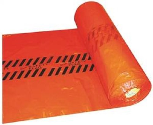 Warp's Red Safety Flags 18'' x 18'' -500 per Roll by Warp Brothers