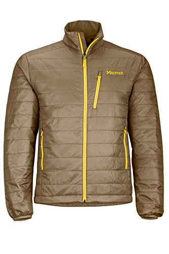 Marmot Calen Men's Insulated Puffer Jacket, Brown Moss by Marmot
