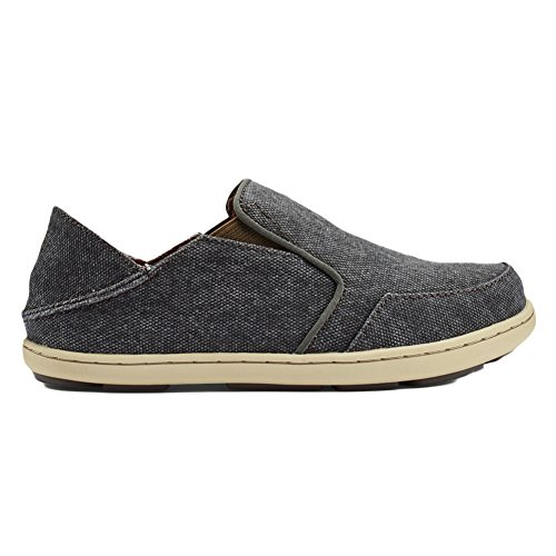 OluKai Nohea Lole Boys Casual S Charcoal/Caper - 2 Little Kid (Little Caper)