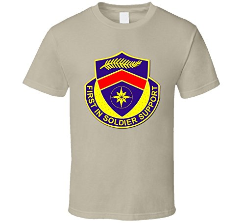 Tan 1st Personnel Services Battalion without Text T Shirt SMALL