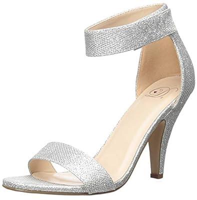 Delicious Women's Rosela Open Toe High Heel Ankle Strap Sandal