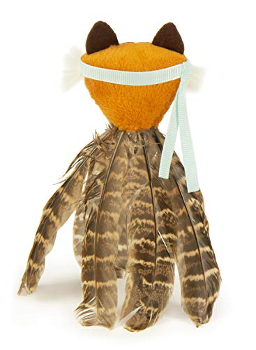 SmartyKat Toss-a-Fox Feathered Cat Toy