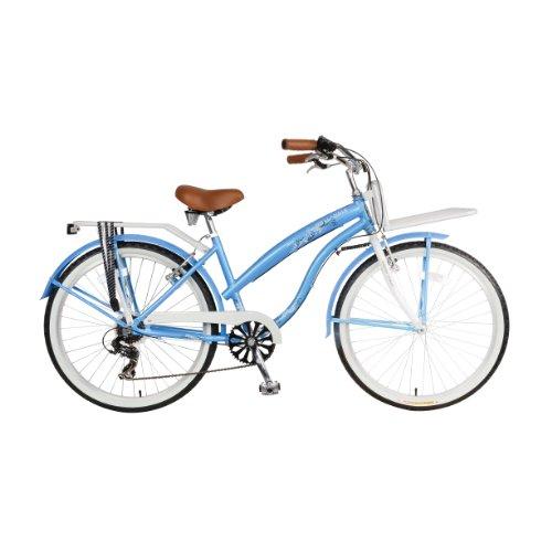 Hollandia F1 Land Cruiser Bike, 26 inch Wheels, 17 inch Frame, Women's Bike, Blue