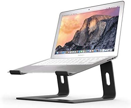 BoYata Soporte de Portátil, Soporte para portatil, Arena Ajustable para computadora portátil (10-15.9 Pulgadas) Compatible con MacBook Pro/Air, computadora portátil de Superficie (Negro): Amazon.es: Hogar