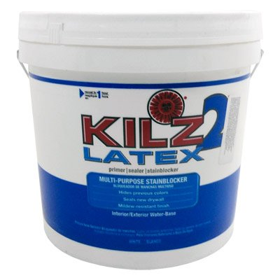 KILZ 2 2-gal. White Water-Based Latex Multi-Surface Interior/Exterior Primer, Sealer and Stain-Blocker