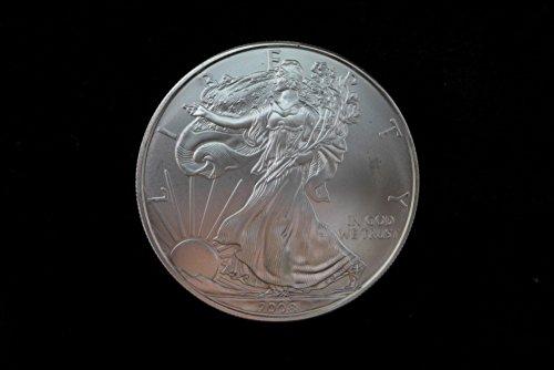 2008 American Eagle 1oz. Silver Dollar Brilliant Uncirculated