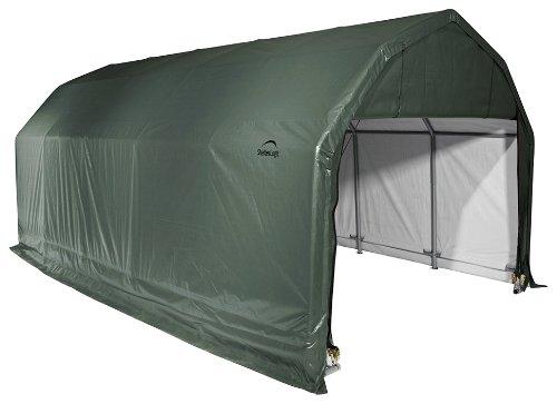 ' ShelterLogic 97154グリーン12 ' Barn ' Shelter B004GKCDYQ x9 x24