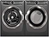 Electrolux Titanium Front Load Laundry Pair with EFLS627UTT 27' Washer and EFMG627UTT 27' Gas Dryer