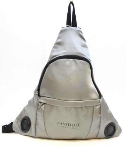 DAVIDOFF SILVER RUCKSACK WITH BUILT IN SPEAKERS