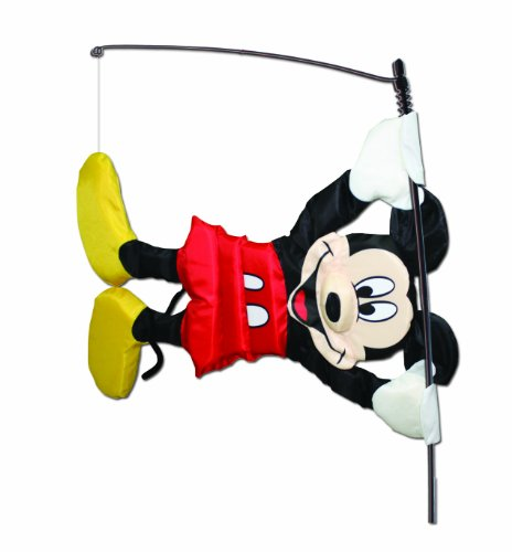 WindNSun WindSical Outdoor Animated Decor, Mickey - Mickey Flag Mouse
