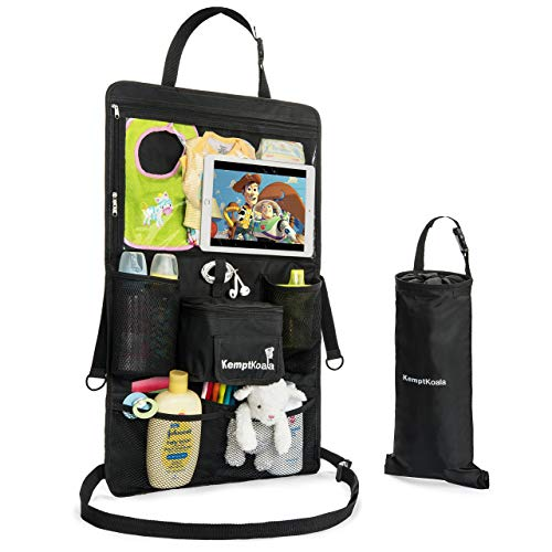 "Best Prices! KemptKoala Ultimate Car Backseat Organizer w/Touch Screen Friendly 17"" Tablet Pocket ..."