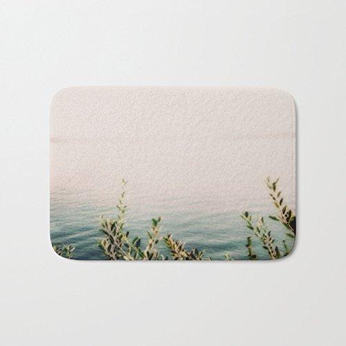 minimalist print bath mat custom bath mat memory