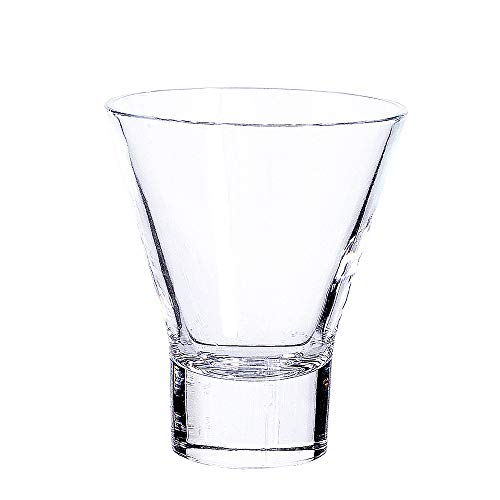 Martini Glasses .Cocktail Glasses Set of 4,Stemless Martini Cocktail Glass 8 Ounce, Cocktail Bar Glass, Perfect Quality Gift for Banquet, Party, Wedding, Housewarming, Birthday Celebrations (4-pack) by LUXU (Image #1)
