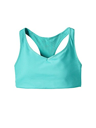 Patagonia Women's Centered Sports Bra (Small, Howling Turquoise) by Patagonia (Image #1)