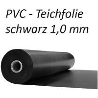 Teichfolie PVC 0,8mm schwarz in  4m x  7m
