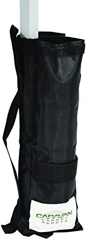 Caravan Canopy Outdoor Canopy Weight Bags – Set of 4, Black