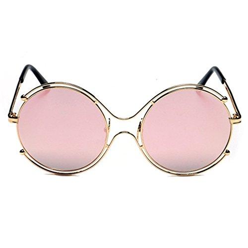 LOMOL Womens Retro Classic Personality Fashion Colorful Round Uv Protection - Varifocal Sunglasses Boots