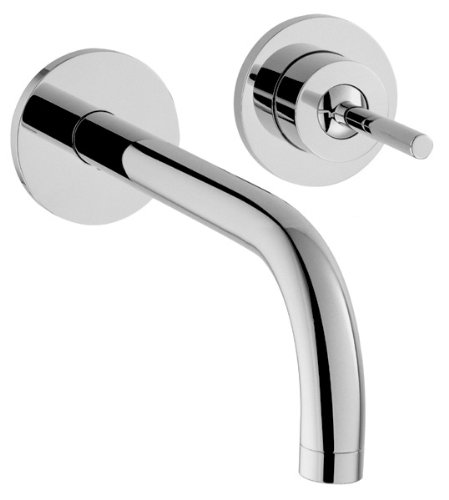 Axor 38118001 Uno Wall Mounted Single Handle Faucet in Chrome
