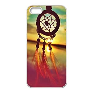 Sunrise Dreamcatcher Feather Mayan Aztec Tribal Phone Case for iPhone 5S Case