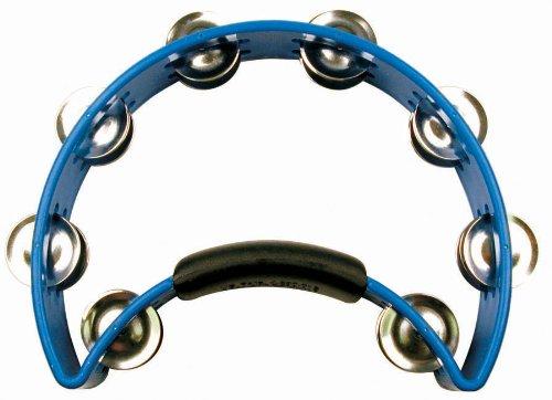 Rhythm Tech Tambourine (Rhythm Tech RT 1041  Tambourine, Blue, Brass Jingles)