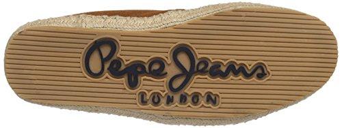 Pepe Jeans London TOURIS BASIC - Náuticos de cuero hombre naranja - Orange (196TERRA)