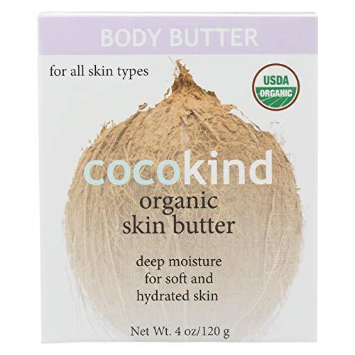 Cocokind Butter Skin Organic 120 ML, 4.05 oz