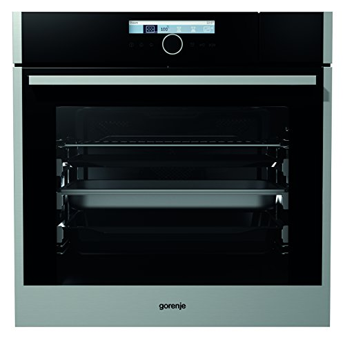Gorenje BCS 789 S22X Einbau-Kombi-Dampfgarer / A+ / Backmuffe Homemade 75 L / Edelstahl / StepBaking / Bratenthermometer / Anti-Fingerprint