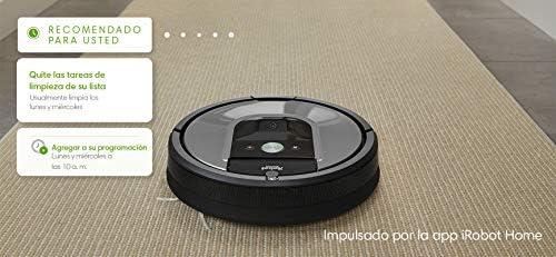 iRobot ROOMBA 960 Aspiradora robotica programable, Color, Pack of/Paquete de 1 4