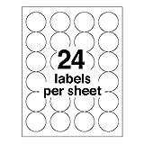 Avery 5293 Round specialty laser printer