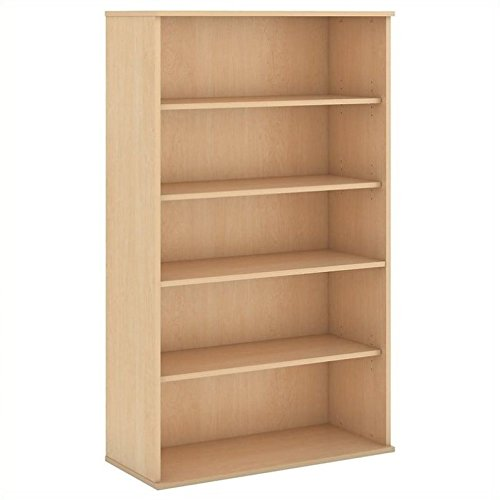 Scranton & Co 66H 5 Shelf Bookcase in Natural Maple