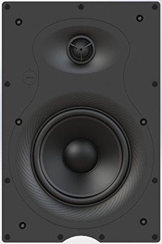 2-Way In-Wall Speaker with Pivoting Dome Tweeter (pair) [並行輸入品] B078FZRZWY