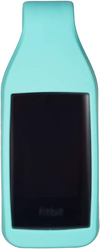 Teal EEweca Clip Holder for Fitbit Charge 3//4 Silicone Case Accessory