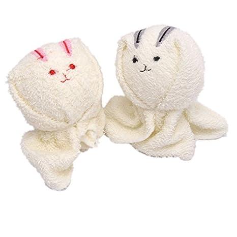 Mzamzi - Toallas pastel de gran valor toalla en forma de conejo: Amazon.es: Hogar