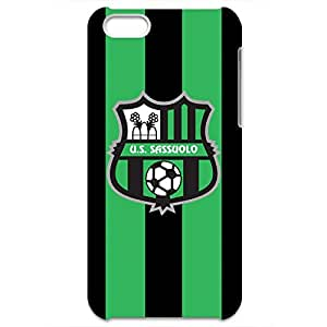 Sassuolo Logo Phone Case for Iphone 5C 3D Black Slip On Cover