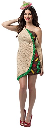 Rasta Imposta Women's Foodies Taco Dress, Multi, One Size -