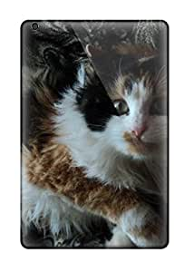 David R. Spalding's Shop Best 3497972I56487571 Anti-scratch Case Cover Protective Cat With Wild Hair Case For Ipad Mini