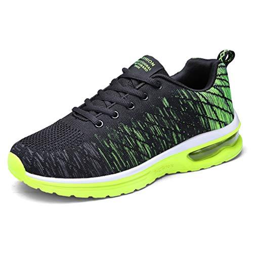 Nero Sportive Sneakers Scivolo Adulto verde Anti Fitness Zhenghewyh Scarpe Unisex 1Z8Eqv