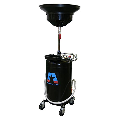 (American Lubrication Equipment TIM-317-A Portable Self-Evacuating Waste Oil Drain, 24 gal, 23.8 gal Steel Tank, 15-3/4
