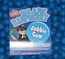 Blue Raspberry 1 inch Gumballs, 1LB