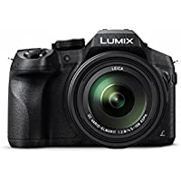 Panasonic LUMIX DMC-FZ300K 12.1 Megapixel, 1/2.3-inch Sensor, 4K Video, Splash & Dustproof Body, Leica DC Lens 24X F2.8 Zoom (Black)