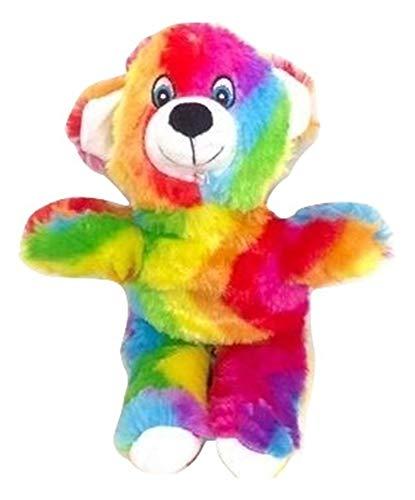 (National Toy Rainbow Teddy Bear Plush Stuffed Animal - 12