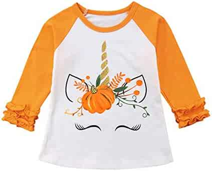 Matoen Baby Boys Girls Cartoon Kitten Cat Print Sweater Tops Outfits Clothes