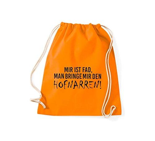 De Tela Shirtstown Algodón Mujer Naranja Para Bolso PaqqT0W5