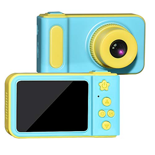 ATOPDREAM Camera for 4-12 Year Old Boy Girl, TOPTOY Kids Cameras Digital Boys Girls Kids Digital Cameras Video Camera Best Gifts for Girls Boys Kids Toys Age 4-12 Blue TTKC01
