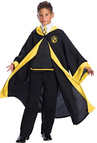Charades Hufflepuff Student Children's Costume, As Shown, Medium
