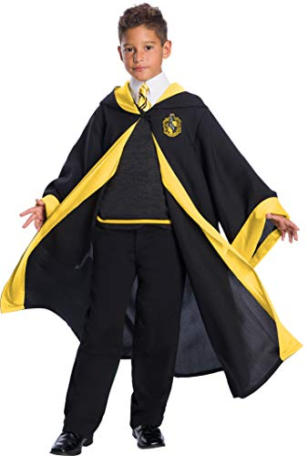 Charades Hufflepuff Student Children's Costume, As Shown, Medium]()