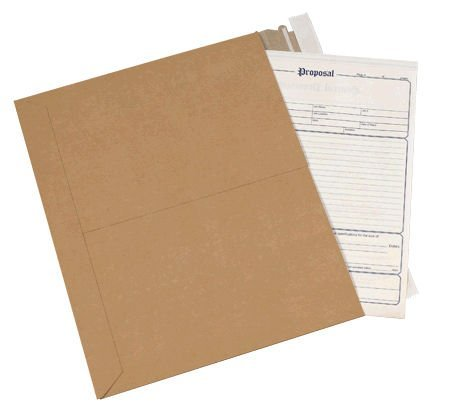 Aviditi RMU1218K Chipboard Utility Flat Mailer, 18'' Length x 12-1/2'' Width, 0.018'' Thick, Kraft (Case of 200) by Aviditi