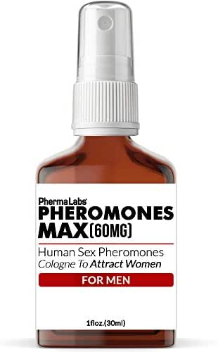 INSTANTLY! Attract Beautiful Women Phermones MAX ((60mg)) Cologne For men - PhermaLabs