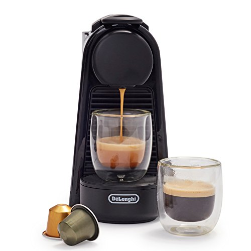 Nespresso Essenza Mini Nespresso Machine by De'Longhi, Black