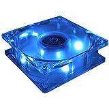 MASSCOOL 80mm Blue LED Cooling Fan BLD-08025S1M